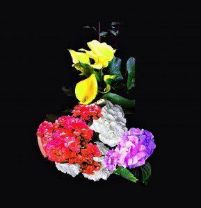 4 Composizione floreale (Floral composition)